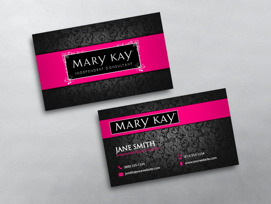 Mary Kay Blank Business Cards Www Pixshark Com Images Galleries With A Bite