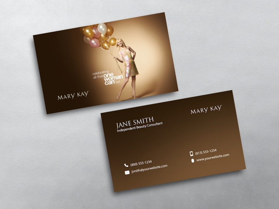 Mary kay business card template mandegarfo mary kay business card template cheaphphosting Image collections