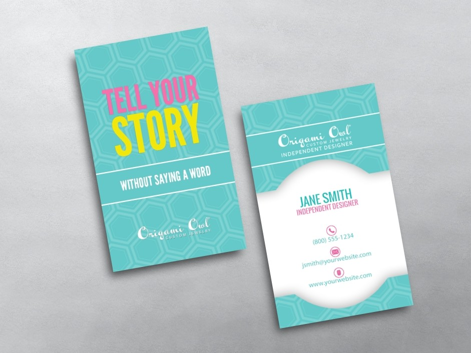 Origami Owl Blank Business Cards Crazywidowfo