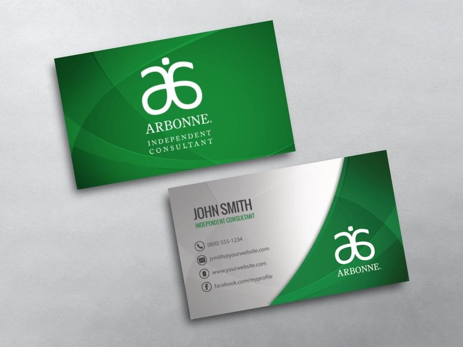 Arbonne Business Cards