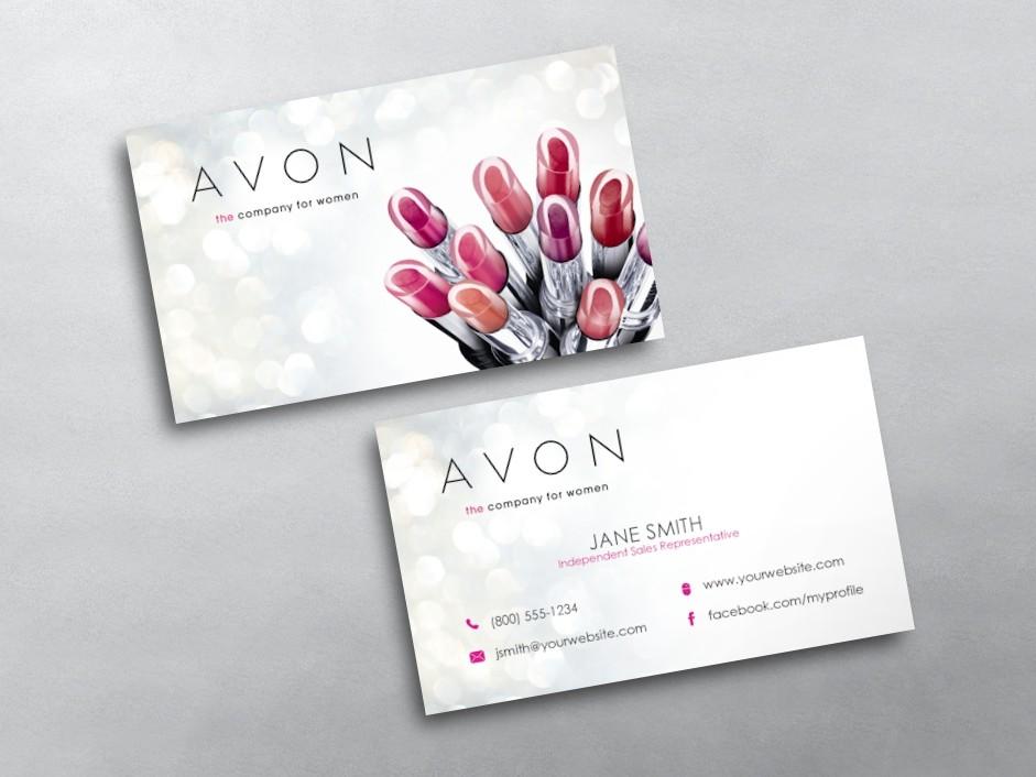 Avon Business Cards