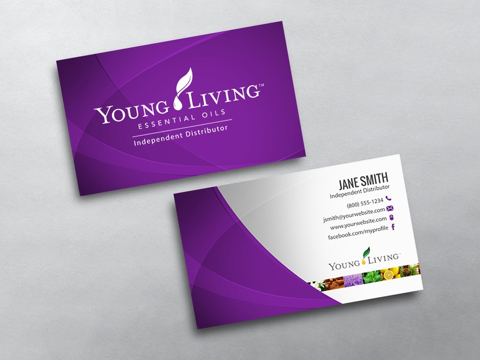 Young Living Business Card 12