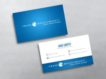 Beachbody business cards free shipping beachbody business card 01 colourmoves