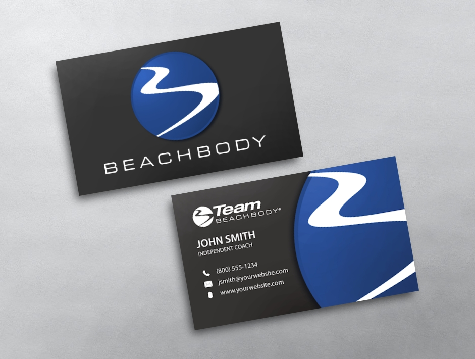 Beachbody Business Cards | Free Shipping