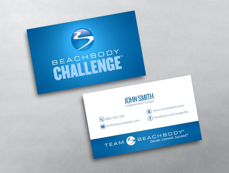 BeachBody Business Card 04