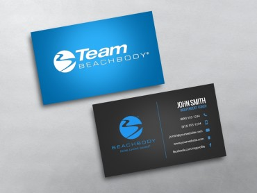 Beachbody business cards free shipping beachbody business card 05 reheart Choice Image