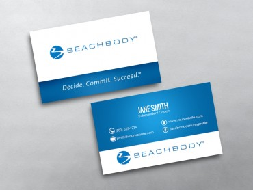 Beachbody business cards free shipping beachbody business card 07 colourmoves Gallery