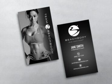 Beachbody Business Card 13