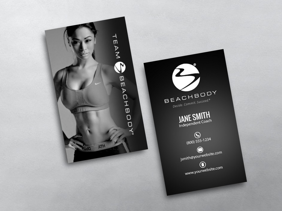 BeachBody Business Card 15