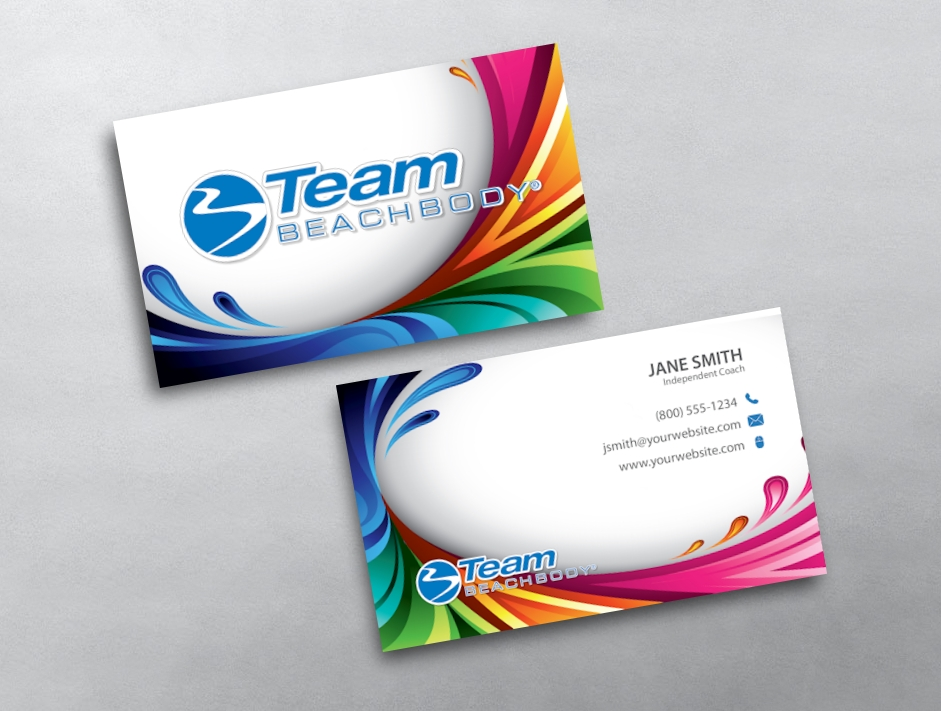 Beachbody business card 15 category beachbody business cards free beachbodytemplate 15 colourmoves