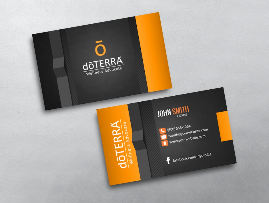 doTERRA Business Cards | Free Shipping