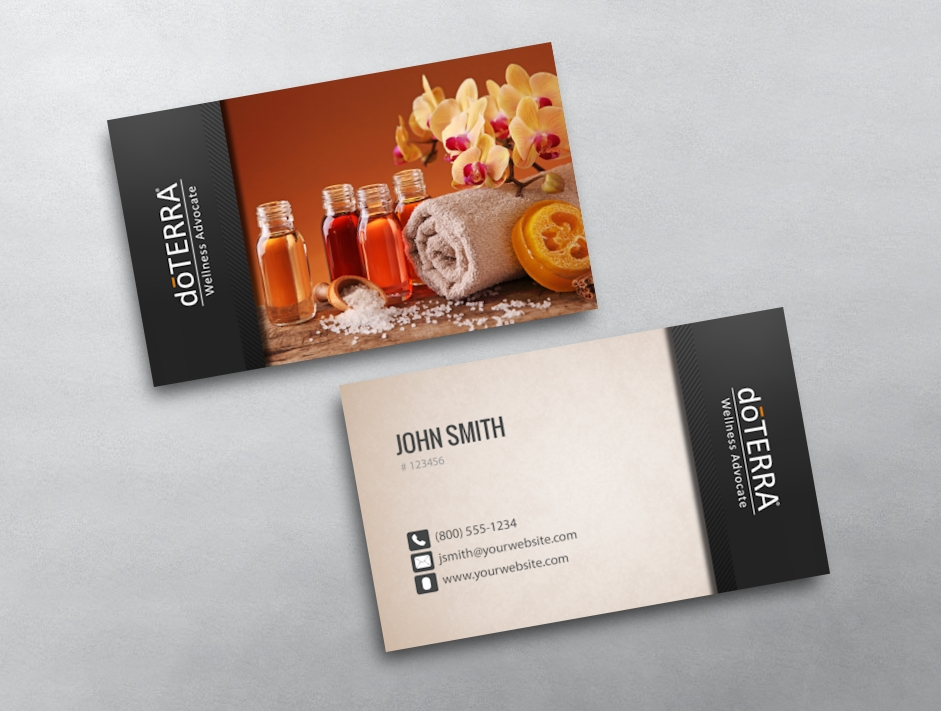 doTERRA Business Card 32