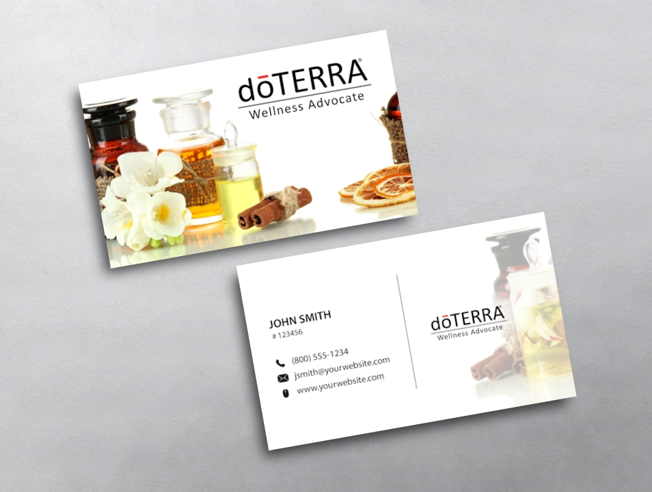 doTERRA Business Card 37