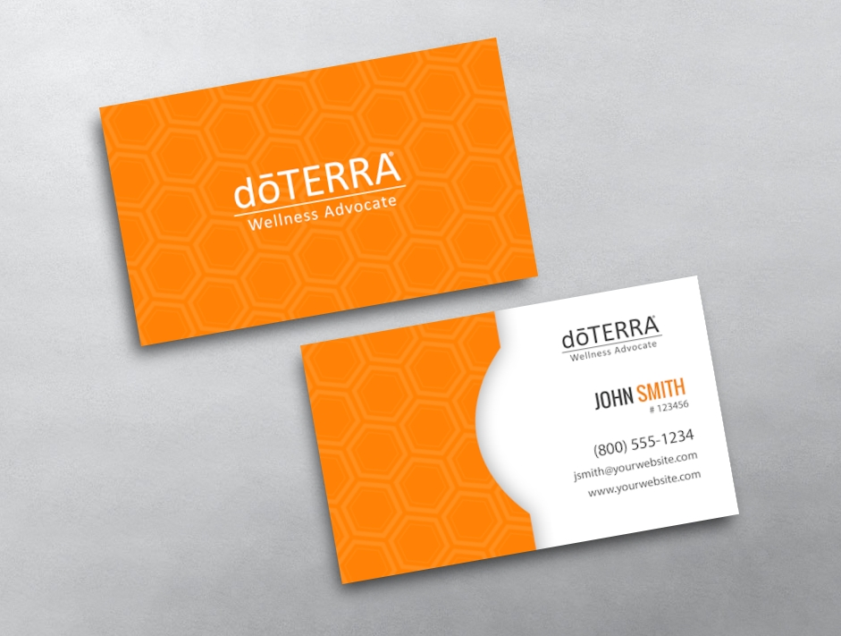 Doterra business card 41 for Doterra business card template