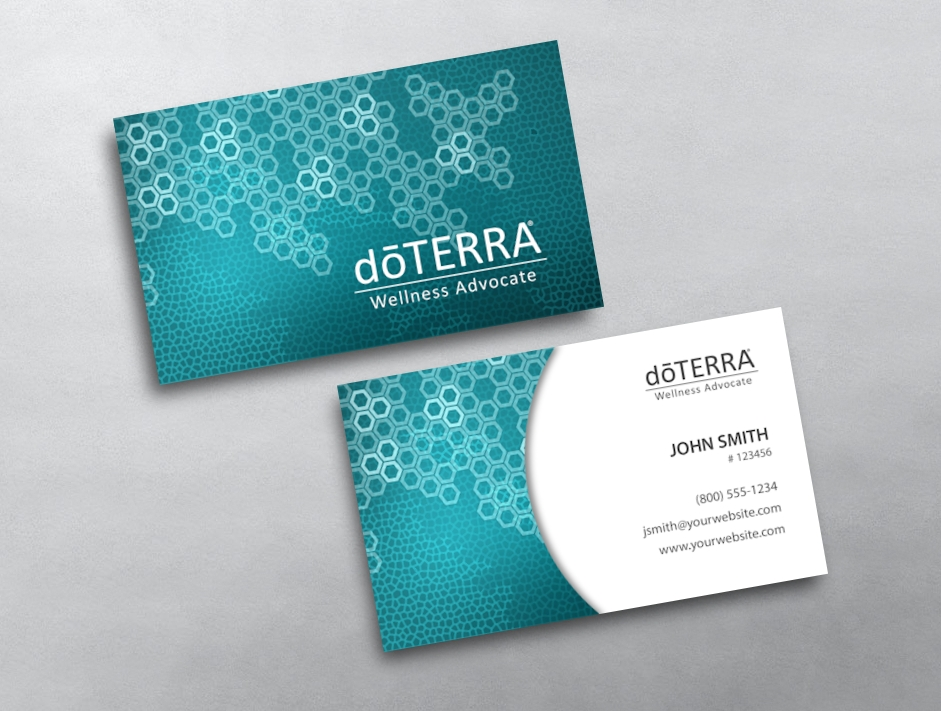 Doterra business card 44 for Doterra business card template