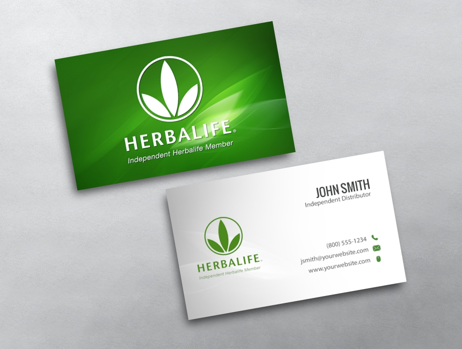 Herbalife Business Card 01