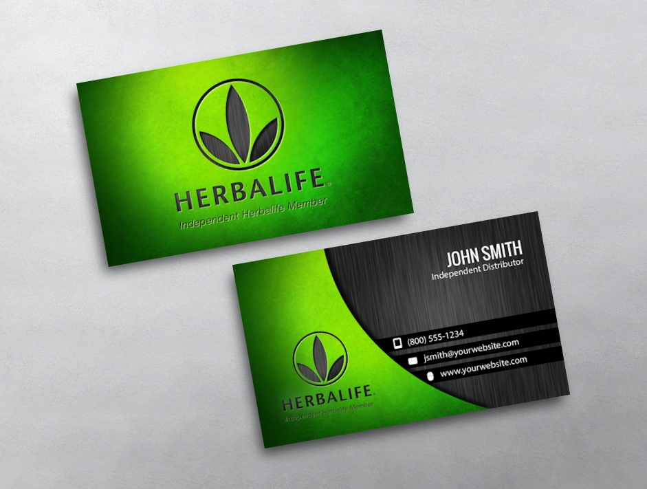Herbalife business card templates herbalife official classic business cards be a classic reheart Images