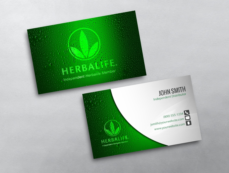 Herbalife business cards free shipping herbalife business card 04 cheaphphosting Choice Image