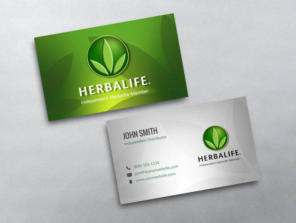 Herbalife business cards free shipping herbalife business card 05 cheaphphosting Choice Image