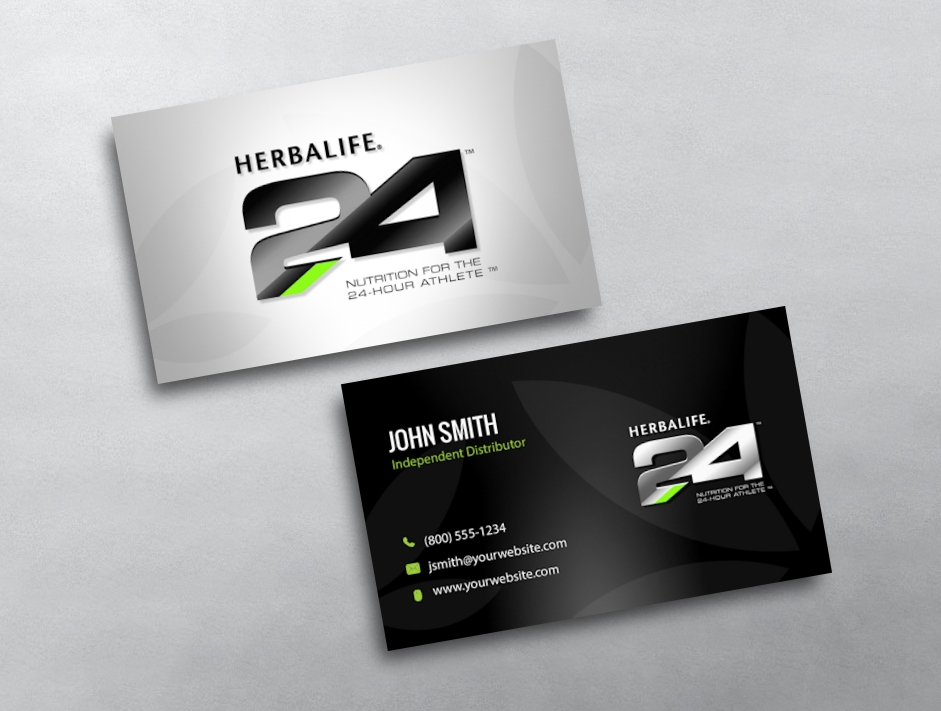 Herbalife business cards free shipping herbalife business card 10 reheart Choice Image