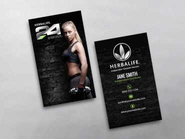 Herbalife business cards free shipping herbalife business card 12 cheaphphosting Choice Image