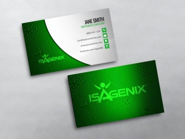 Isagenix business cards free shipping isagenix business card 02 colourmoves