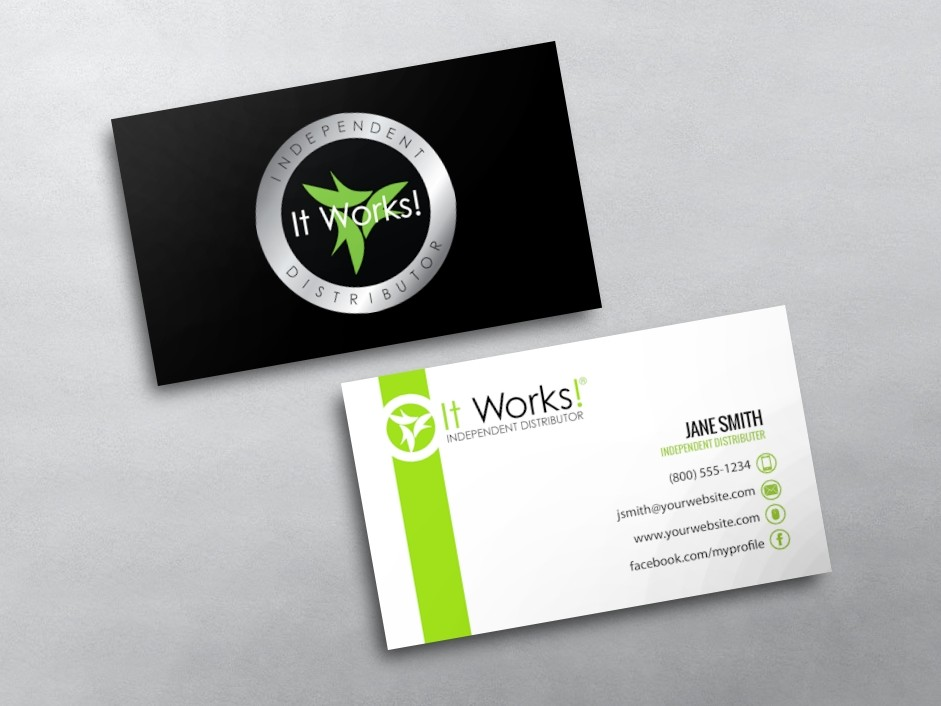 It Works Business Card 12