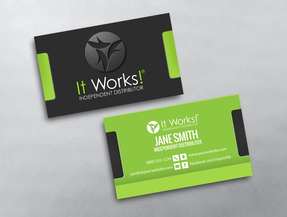 It Works Business Cards | Free Shipping