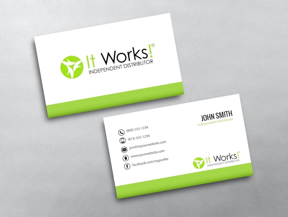 It works business card template it works business cards resumess franklinfire co wajeb