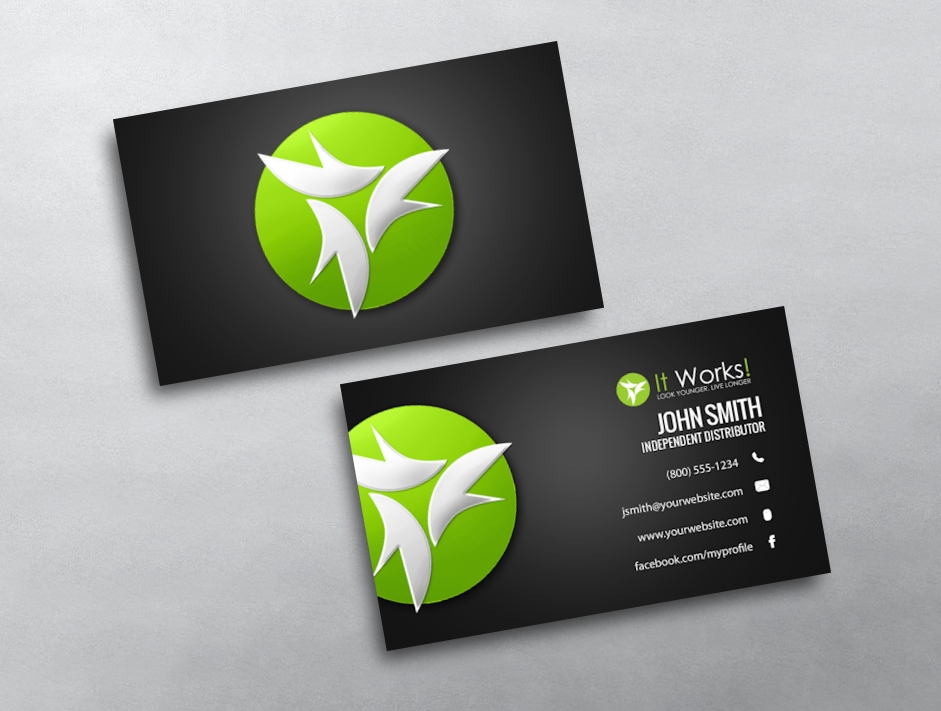 It Works Business Card Template Acurnamedia