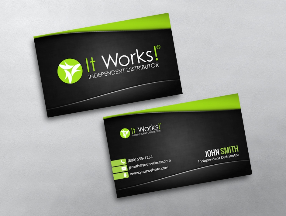 It Works Business Card 09