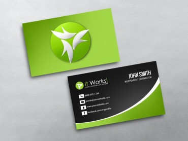 It Works Business Card 10