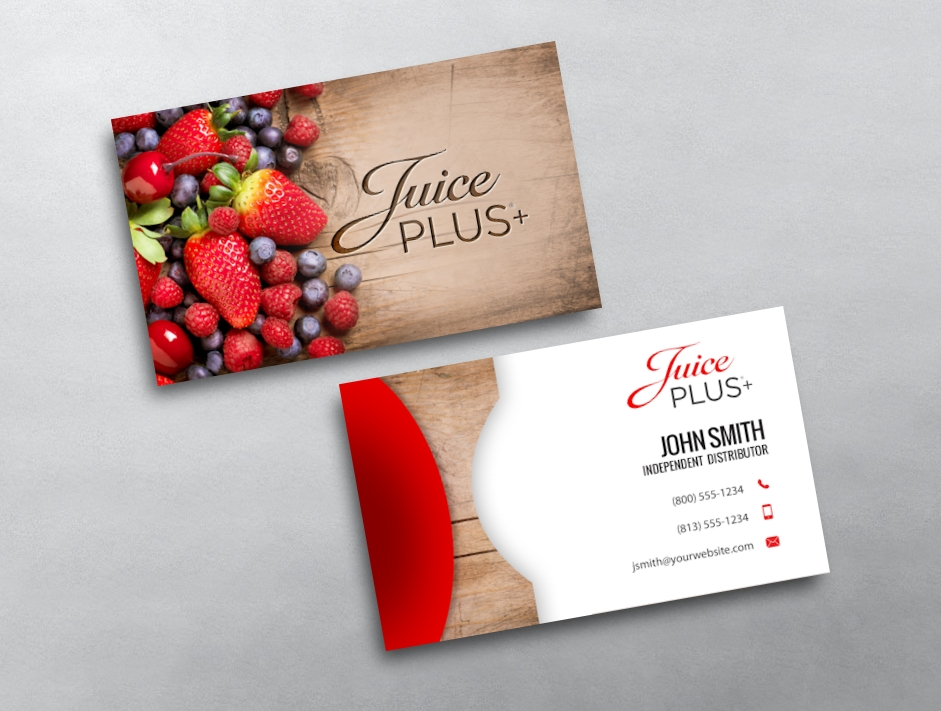Juice plus business cards free shipping juice plus business card 02 reheart Image collections