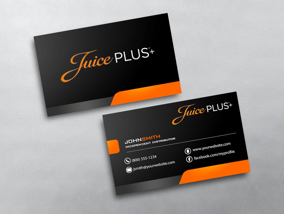 photos on business cards