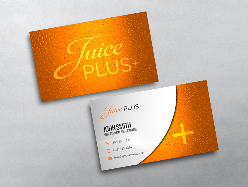 Juice plus business cards free shipping juice plus business card 04 reheart