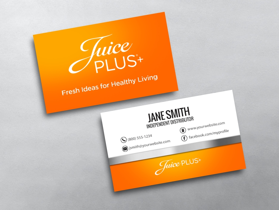 Juice PLUS Business Cards | Free Shipping