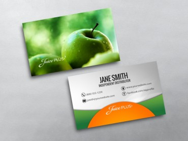 Juice plus business cards free shipping juice plus business card 07 colourmoves