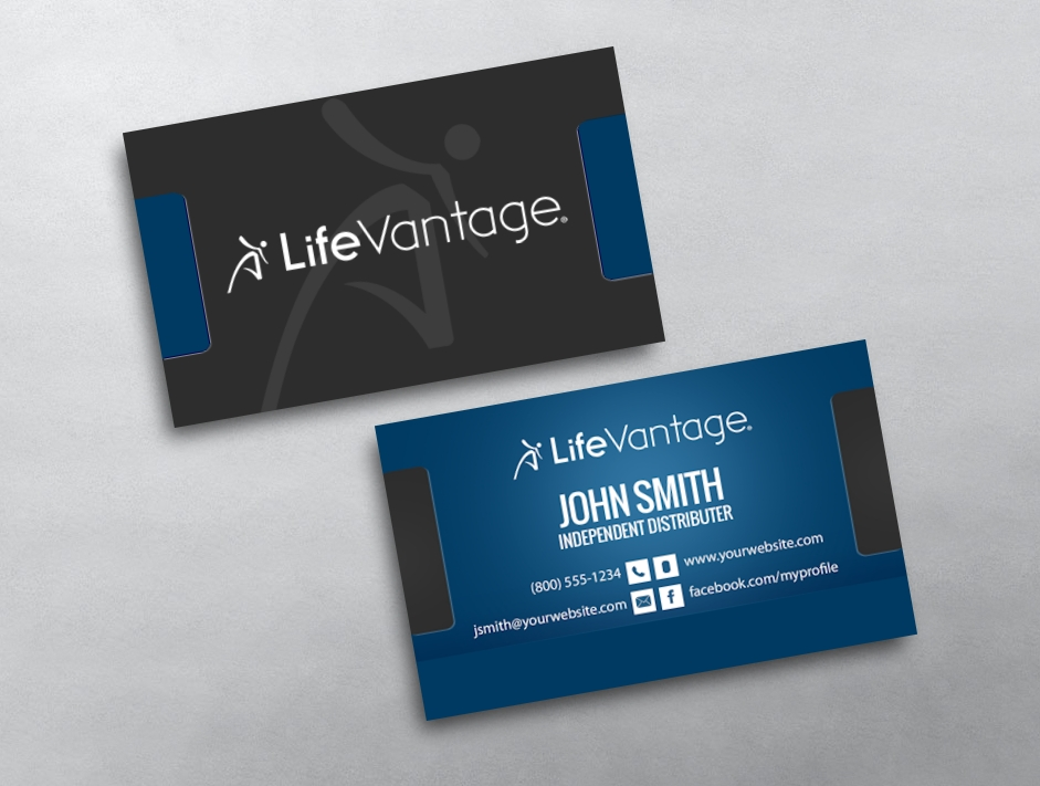 LifeVantage Business Card 03