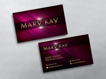 Mary kay business cards free shipping mary kay business card 01 friedricerecipe Gallery
