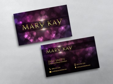 mary kay business card 03