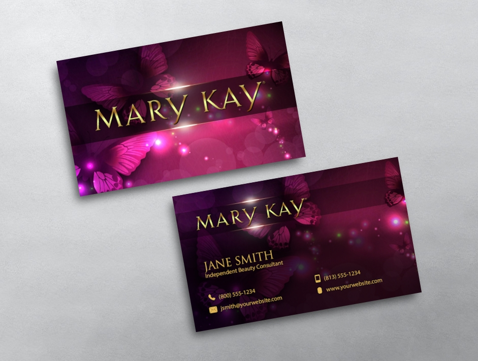 Mary Kay Business Card 04