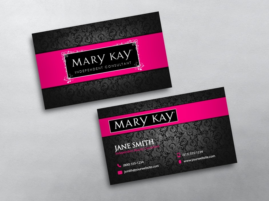 Mary kay business cards for Mary kay business cards templates free