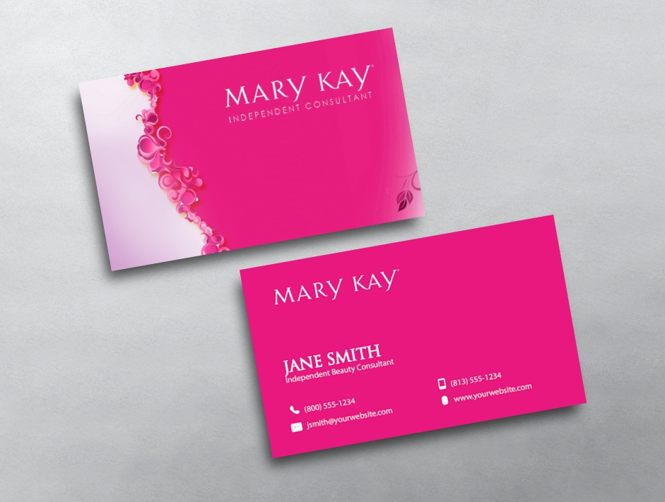 Mary kay business cards free shipping mary kay business card 06 friedricerecipe