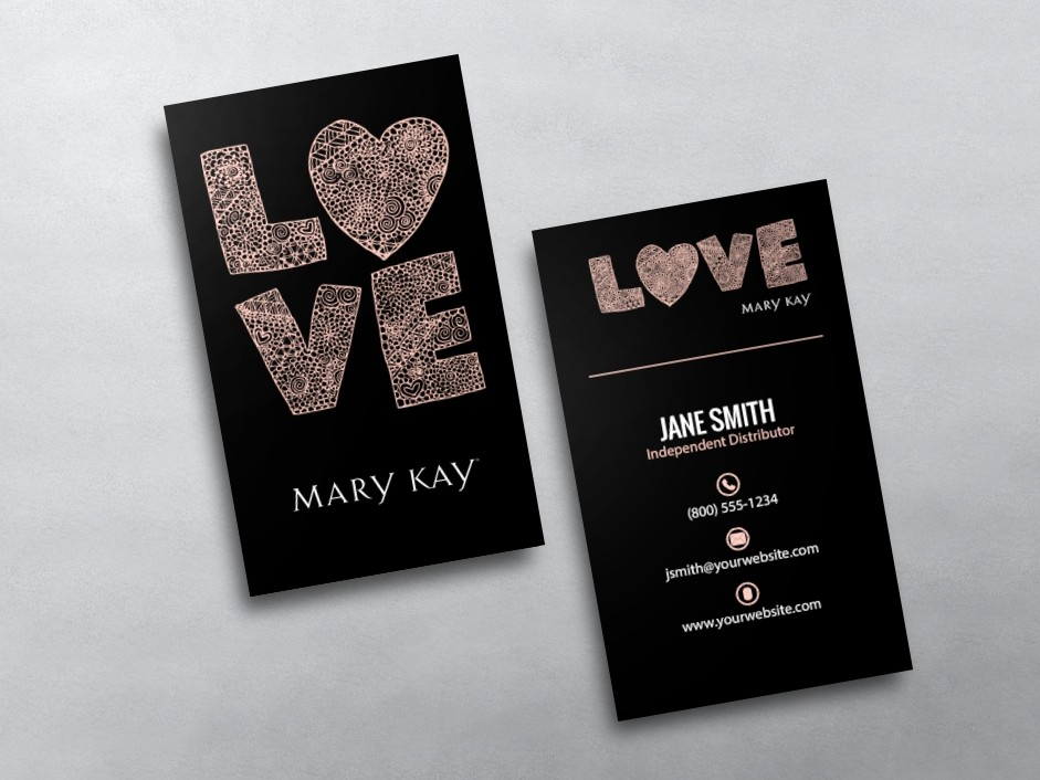 Mary Kay Business Card Pictures to pin on Pinterest