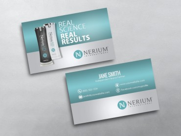 Nerium business cards free shipping nerium business card 03 colourmoves