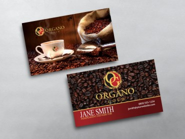 Organo gold business cards free shipping organo gold business card 04 accmission Images