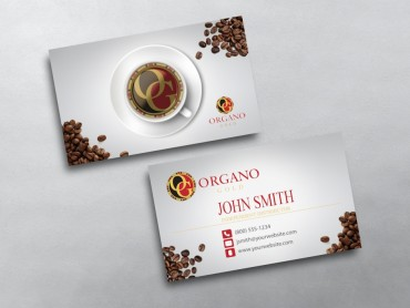 Organo gold business cards free shipping organo gold business card 05 colourmoves