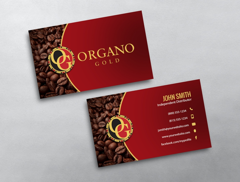 OrGano Gold Business Card 06