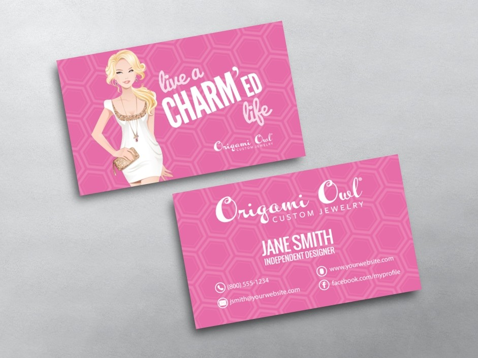 origami owl business cards free shipping