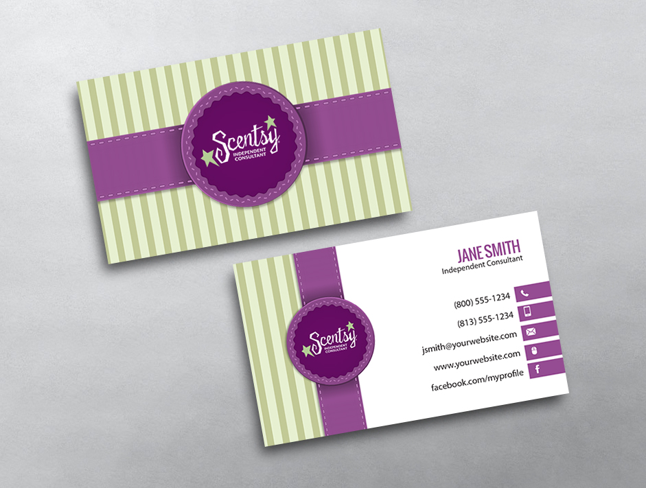 Scentsy business cards free shipping scentsy business card 01 flashek